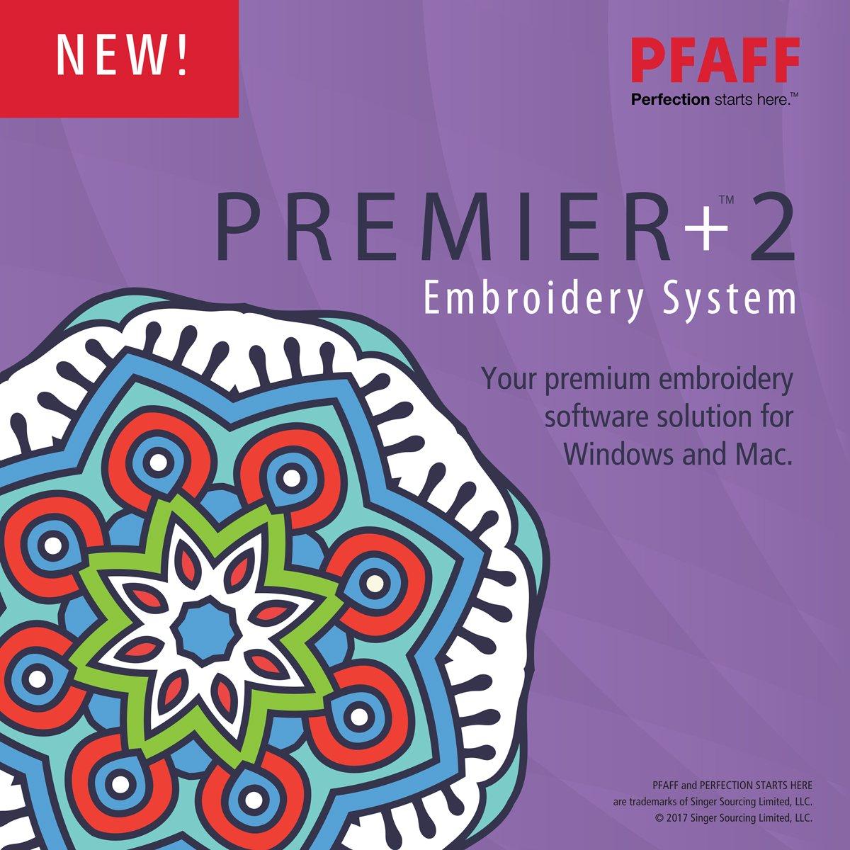 PFAFF Premier+2 ULTRA Embroidery System