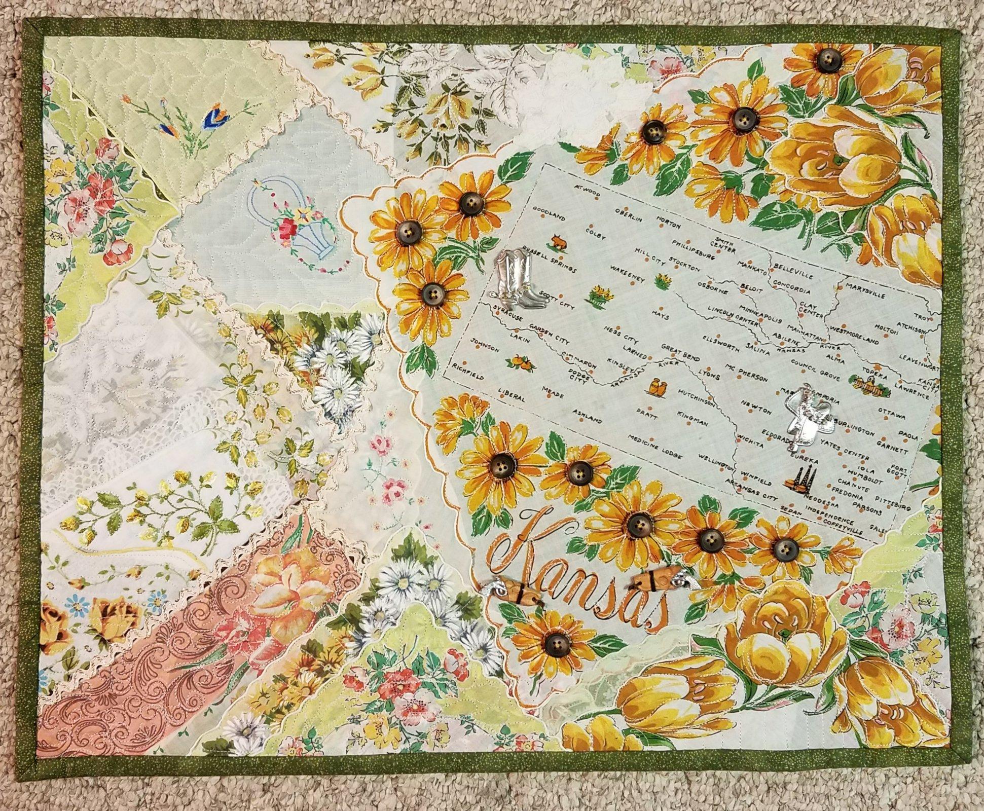 Antique Hanky Quilt Workshop Full