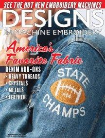 Designs In Machine Embroidery Magazine