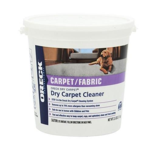 Oreck 4 lb Dry Carpet Cleaner