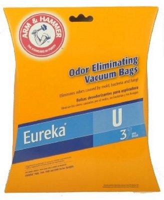 Eureka U Bags - Arm & Hammer Odor Eliminating 3 Pack