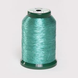 King Star Metallic Thread - Aqua