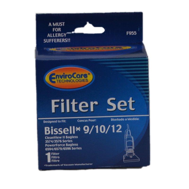Bissell Filter & Foam 9/10/12