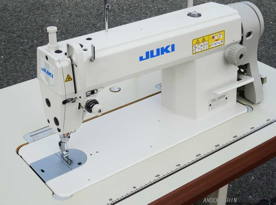 JUKI DDL-5550 with Table and Servo Motor (Assembled and Shipped)
