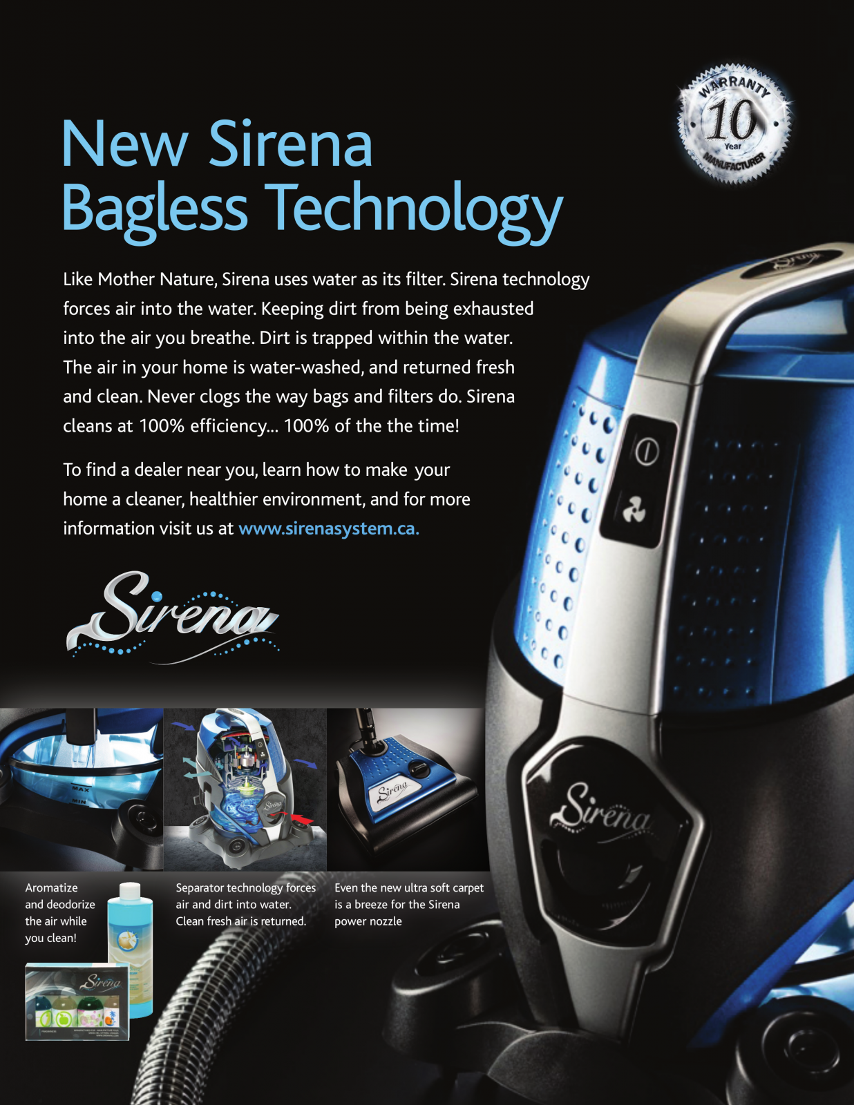 Sirena Total Home Cleaning System