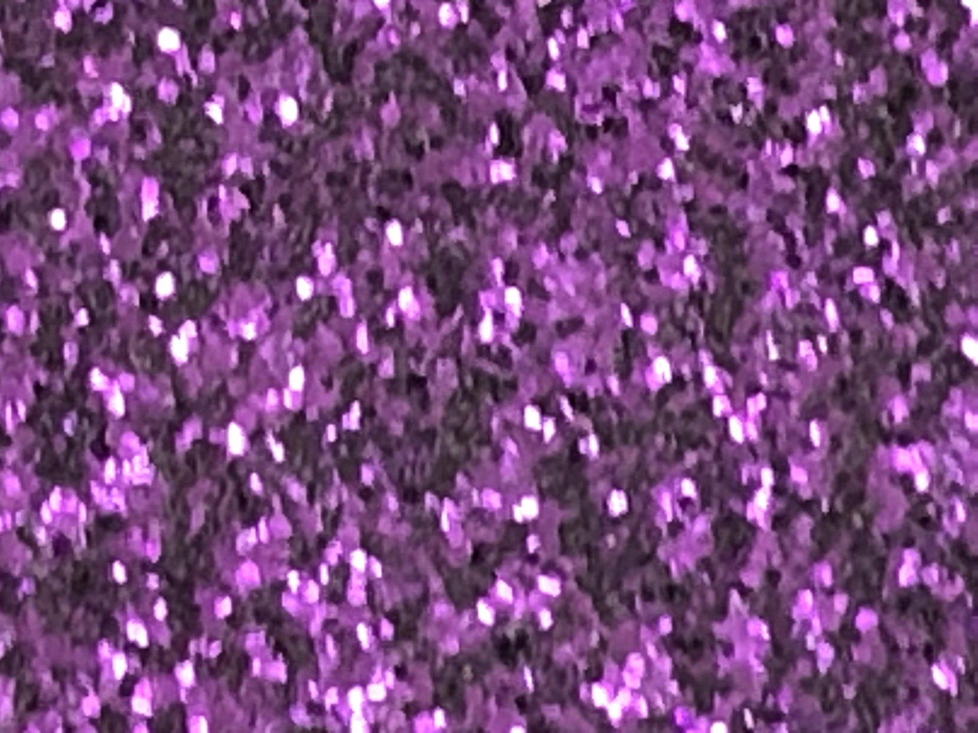 Stahls' Purple Glitter Flake Heat Transfer Vinyl 12 x 20