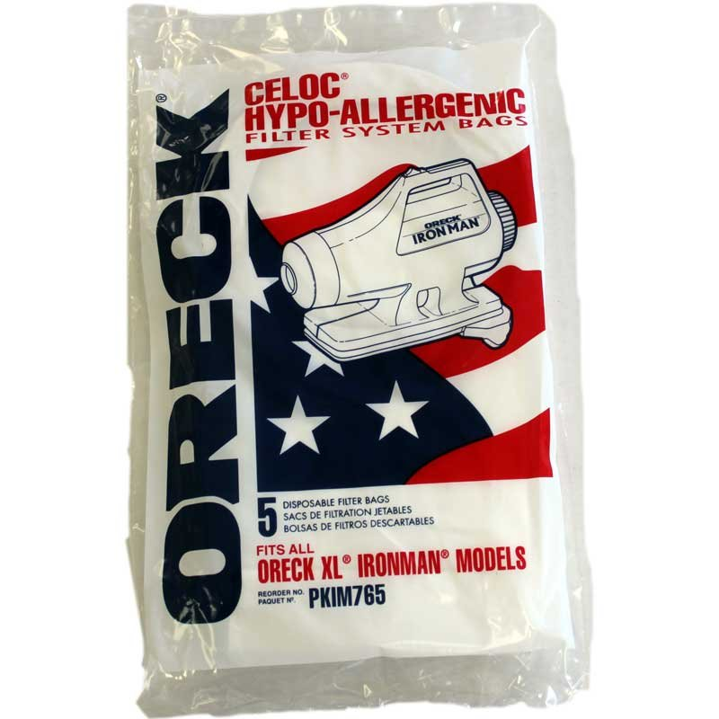 Oreck Ironman Bags 5 Pack