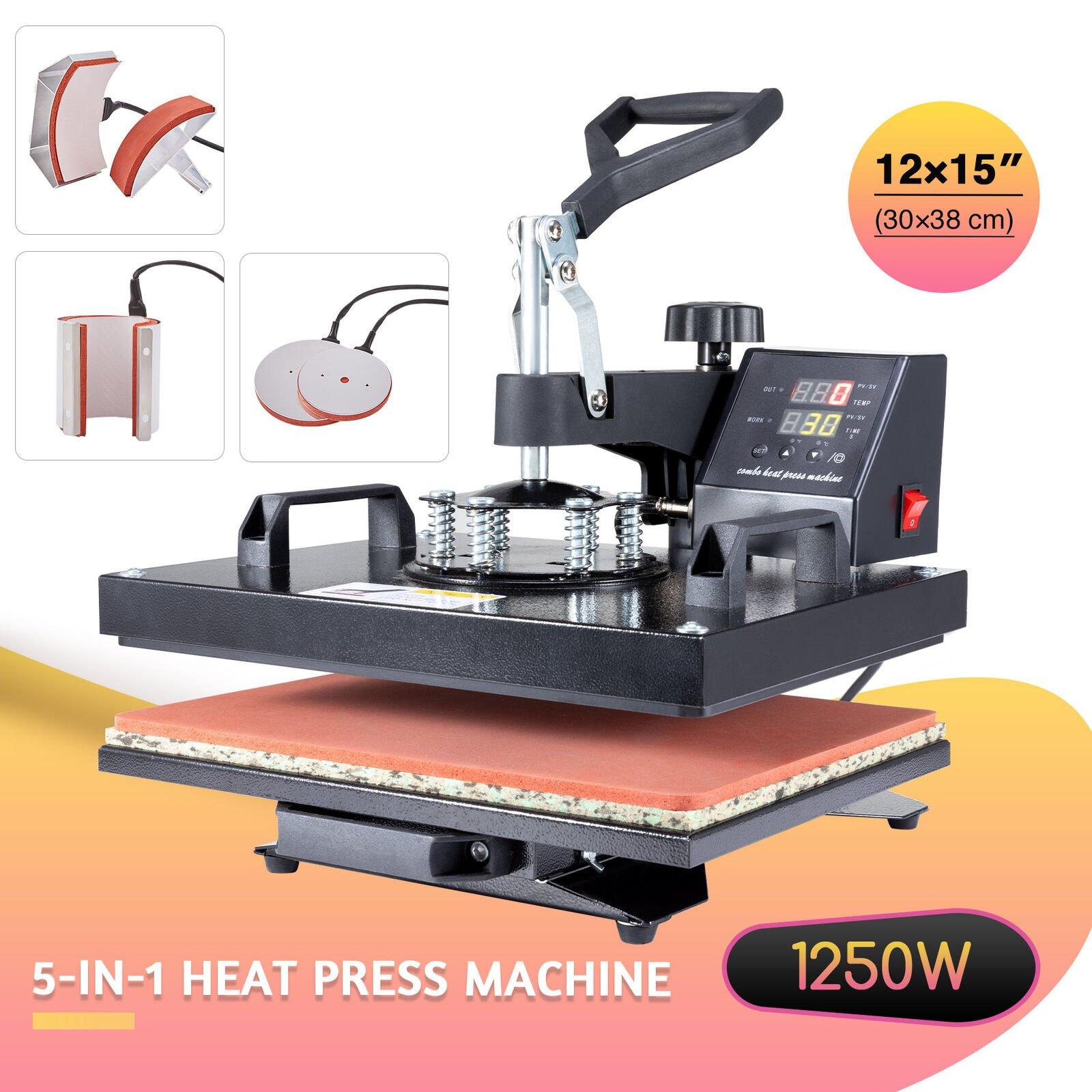 5 in 1 Multifunction Industrial Heat Press Machine