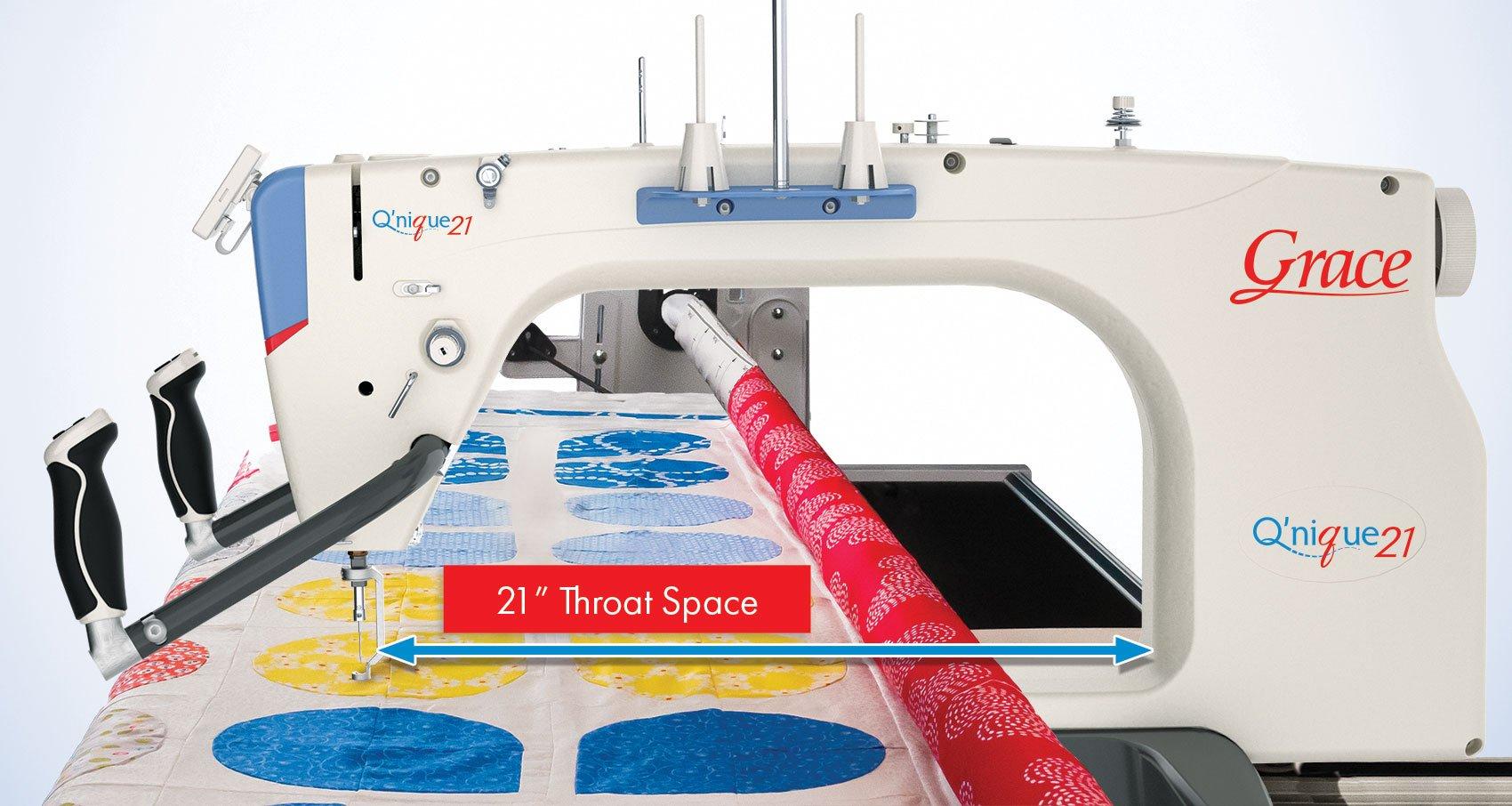 Q'nique 21 Quilting Machine