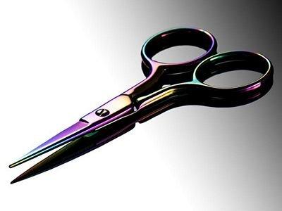 Rainbow Titanium 3.5 Scissors