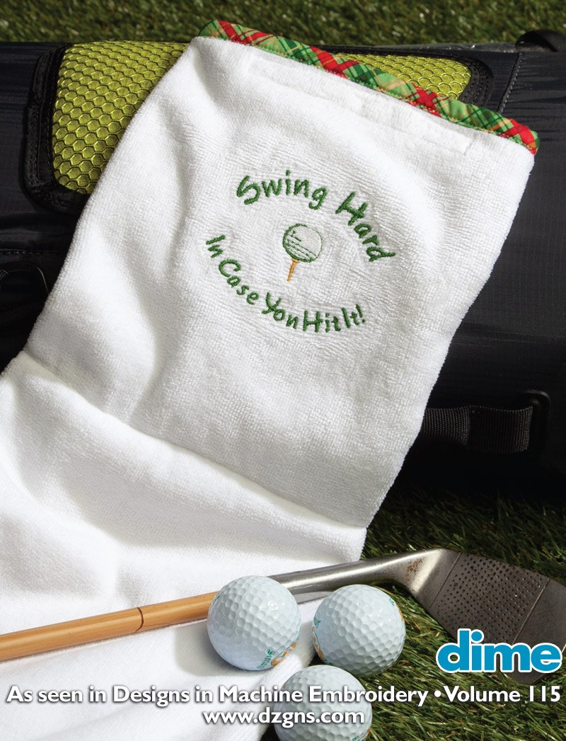 Golf towel article picture