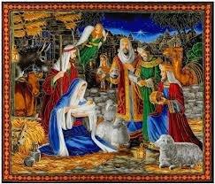 Quilting Treasures 1649- 26570-X Miracle in Bethlehem