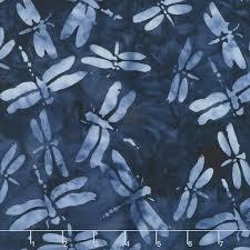 Island Batik Dragonfly - Storm 111815590