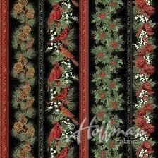 Hoffman Cardinal Carols 7625  Black / Gold