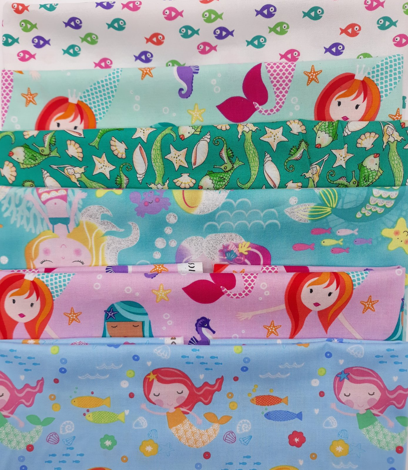 Mermaid Fat Quarter Juvenile