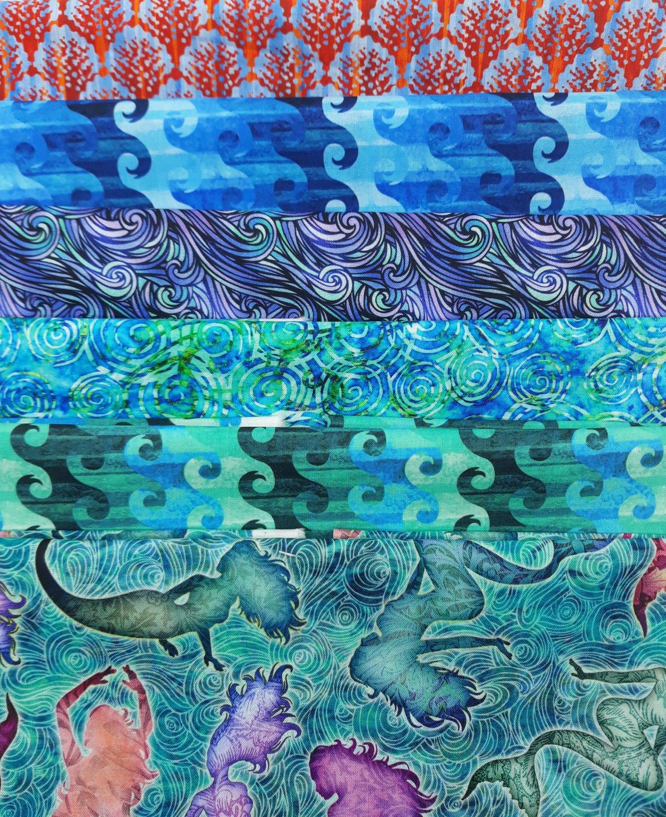 Mermaid Fat Quarter Bundle