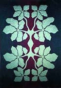 Hawaiian Applique Pattern - Olapa - by Raintree Hawaii