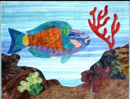 Under the Sea-With Me Parrotfish Kit by Barbara Bieraugel - copy - copy