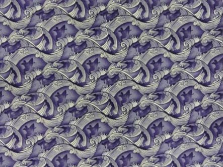 Shadow Surfer Fabric-Blue
