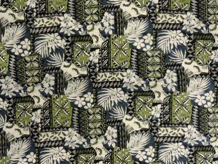 Tropical Kapa Fabric-Sage