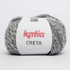 Katia  Creta 55 Silver Grey
