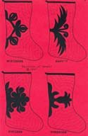 Christmas Stocking Patterns - Hawaiian #3