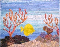 Under the Sea-With Me Yellow Tang Kit by Barbara Bieraugel - copy