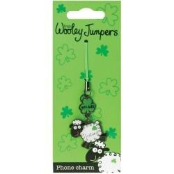 Shamrock Gift Co. Irish Wooley Jumpers Phone Charm