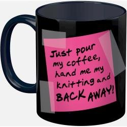 Back Off Mug Knit