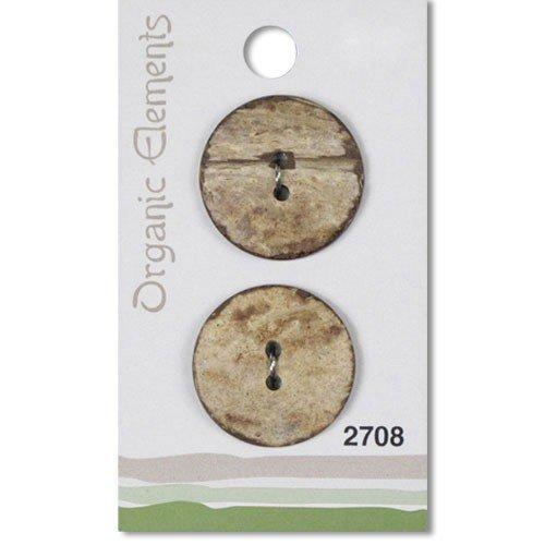 Organic Elements 25mm Coconut