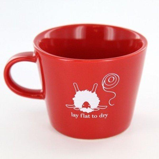 Knit Baah Purl Lay Flat Mug
