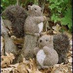Fiber Trends Nuts About Squirrels Shopworn