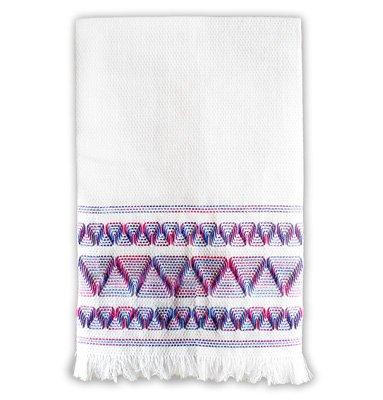 Nordic Needle Huck Embroidery Towel kit