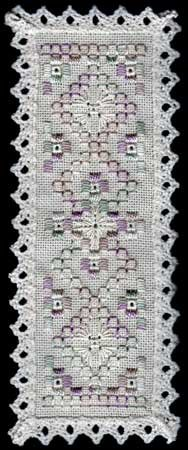 Basic Bookmark in Hardanger Embroidery kits