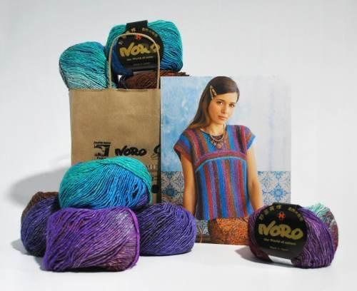 Noro Silk Garden Lite Two Way Top Kit
