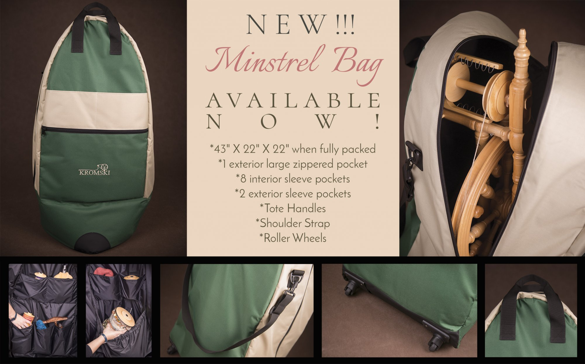 Kromski Carry Bag for Minstrel