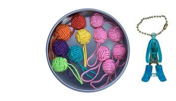 Hiya Hiya Yarn Ball Stitch Marker Gift Tin
