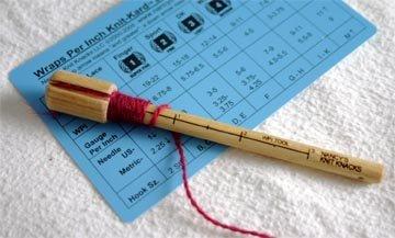 Nancy's Knit Knacks WPI Tool