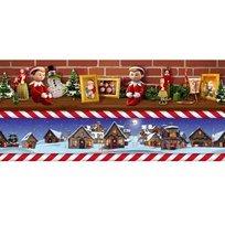Elf on the Shelf, border stripe
