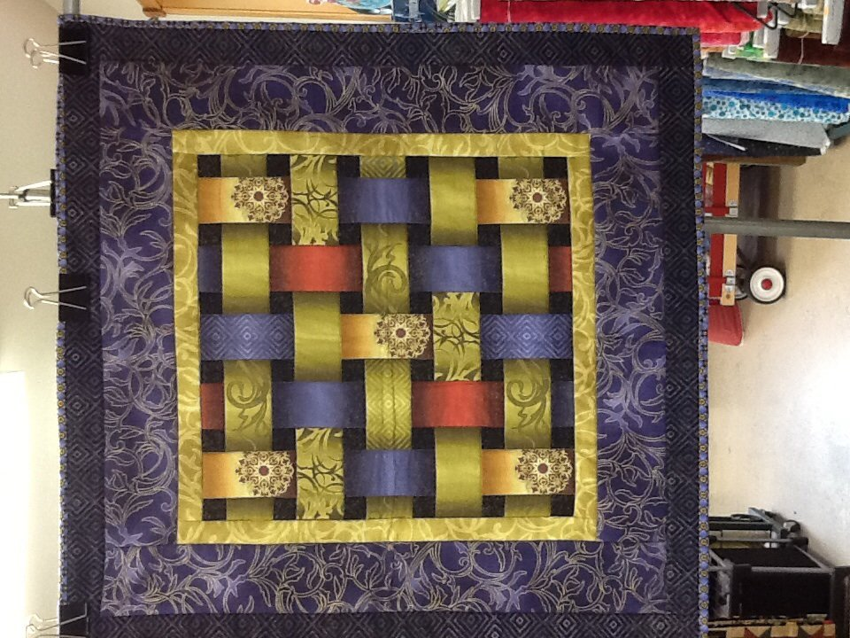 Reflections: Square pillow
