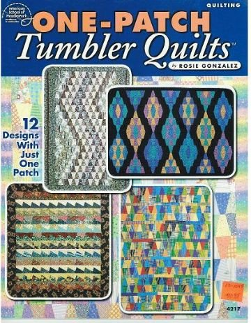 One-patch Tumbler Quilts