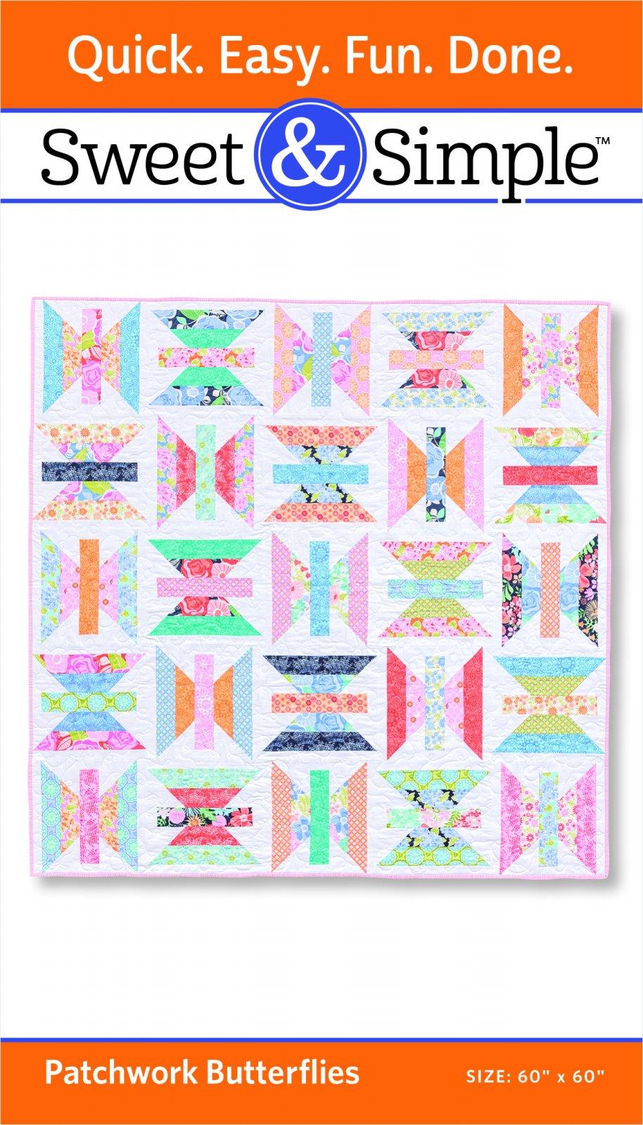 Patchwork Butterflies