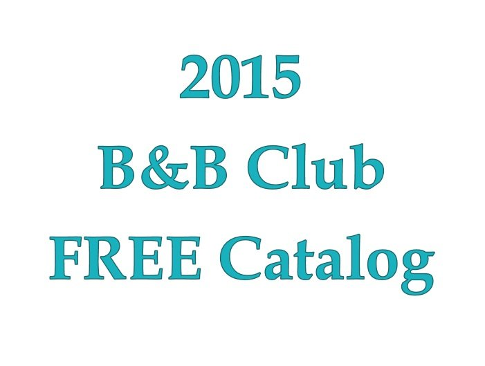 B&B Club Catalog of patterns 2015
