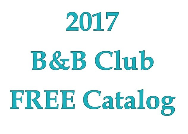 B&B Club Catalog of patterns 2017