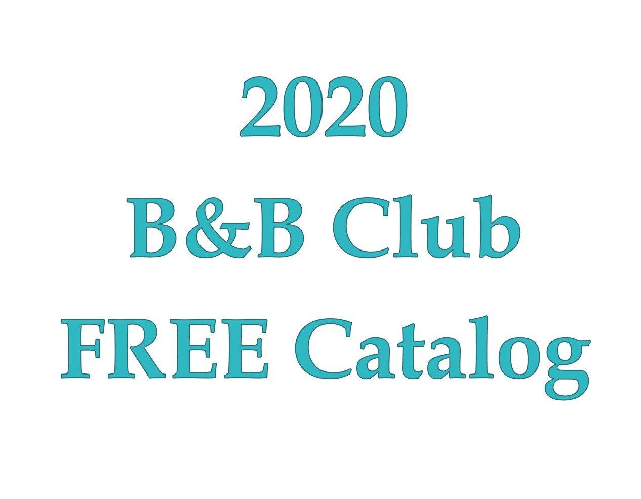 B&B Club Catalog of patterns 2020