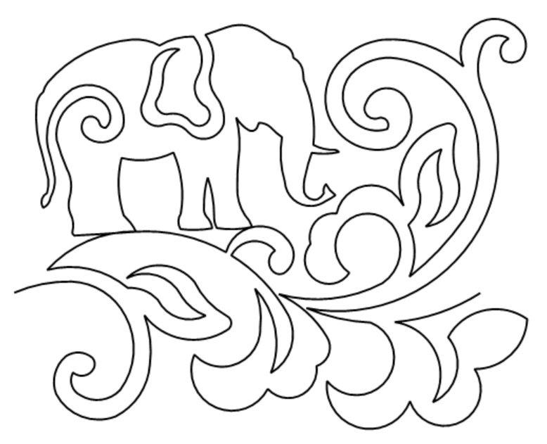 Batik Elephants e2e