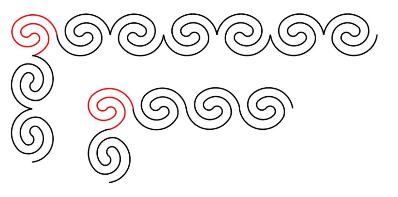 Curly Twirly Border Set