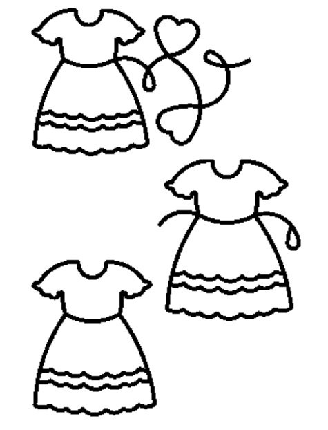 Doll Dress Set