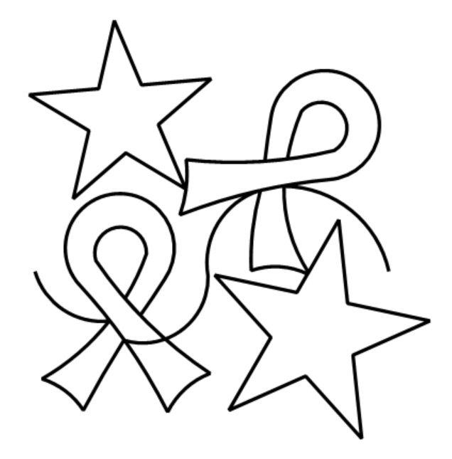 Hope Ribbons and Stars e2e