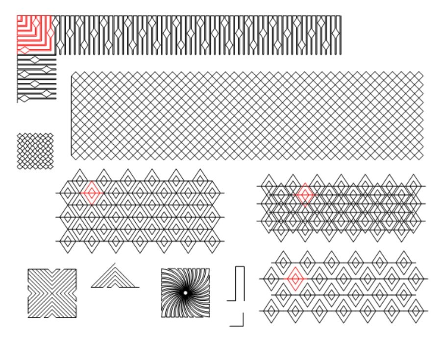 Lines As Designs Pattern Set
